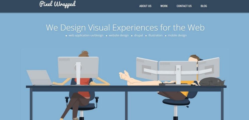25+ Best Design Agency Websites of 2017 - Top Digital Agency